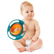 Nicerokaka Kids Baby 360 Gyroscope Bowl Non Spill Feeding Cereal Bowl