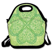 Shamrock Leaf Extra Large Insulated Lunch Box Food Bag