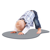 Woombie Tot Toddler Yoga Mat, Grey
