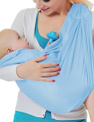 Cuby Breathable Baby Carrier Mesh Fabric, Ideal For Summers/ Beachhe Adjustable Ring Sling Baby Carrier. Ergo Friendly