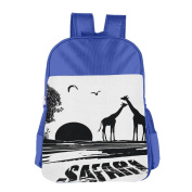 Cute The Deer's Silhouette On The Grass Clutch Bag Camping Child Carriers