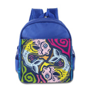 Baby Toddler Printed Pisces Kid Backpack Cute For School
