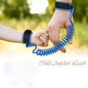 AOZBZ Soft Anti-lost Wrist Link Safety Walking Harness Wrist Leash Hand Belt Rope Children Braclet Walker Wristband for Baby Kids Toddler