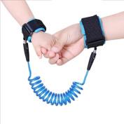 RAN LI Anti Lost Wrist Link Child Wrist Leash Belt for Toddler Wrist Straps Cotton Eco Friendly Skin Safe 1.5M/2M/2.5M for Child or Toddler