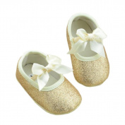 Popular Glitter Leather Newborn Baby Shoes Sneaker Anti-slip Soft Sole Toddler Girls by Dumanfs (US 3