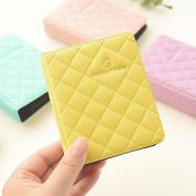 Zhi Jin Leather Mini 64 Pockets Photo Album for Fujifilm Instax Polaroid Size Macaron Picture Case Storage Book Gift, Mint Green