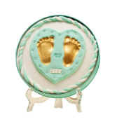 Baby Hands And Feet Ink Hand And Foot Print Souvenirs, Green Box