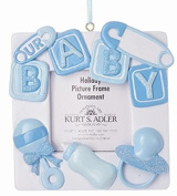 Our Baby Boy/Girl 10cm Photo Frame Christmas Ornament