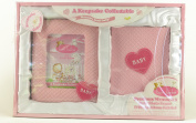 Precious Memories Baby Photo Frame and Photo Album Gift Set In Pink