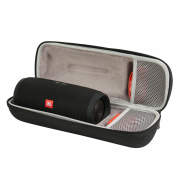 Comecase EVA Case for JBL Charge 3 Waterproof Portable Wireless Bluetooth Speaker - Fits USB Plug and Cable