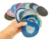 4 (FOUR) Agate Coaster - Agate Slice Coasters Rock Paradise COA
