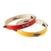 Ikea Tambourine, red/yellow