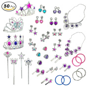 Princess Jewellery Dress Up Accessories Toy Playset for Girls