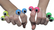 Googly Eye Finger Ring Party Favours 12 Pack