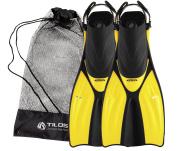 Tilos Getaway Snorkelling Fins Open Heel Fins with Mesh Bag