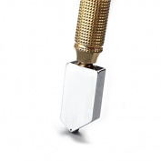 Betan 5mm-12mm Black Pencil Oil Feed Carbide Tip Glass Cutter Cutting Wheel Metal Handle Tool