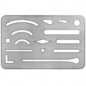 See-Through Stainless Steel Mesh Eraser Shield