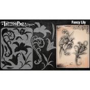 Tattoo Pro Stencils Series 2 - Fancy Lily