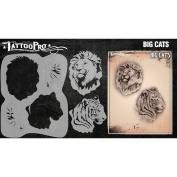 Tattoo Pro Stencils Series 3 - Big Cats