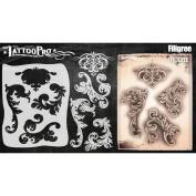 Tattoo Pro Stencils Series 5 - Filigree & Flair