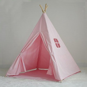 Children's Canvas Teepee Playhouse Tent - 100% Cotton - New Zealand Pine Wood Pole Imported