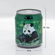 Stainless steel intelligent induction trash cans cans Coke tank induction trash can , 6l panda