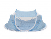 THEE Baby Travel Bed Portable Folding Crib Mosquito Net Baby Newborn Foldable Crib