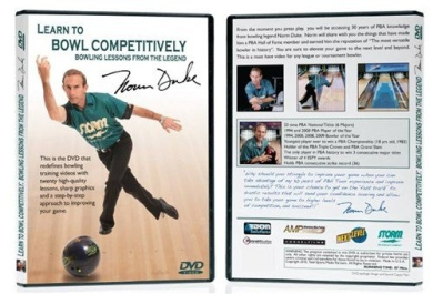 Learn to Bowl Competitively with Norm Duke DVD by Classic