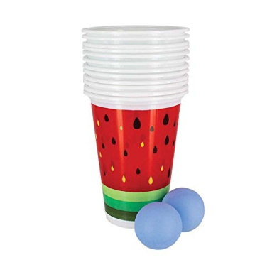 Tropical Themed - Beer Pong Game