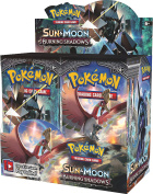 Pokemon TCG Sun & Moon Burning Shadows Booster Display Box Factory Sealed