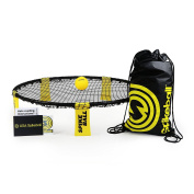 Spikeball 1 Ball Game Set - Includes Playing Net, 1 Ball, Drawstring Bag, And Rule Book - As Seen On Shark Tank TV