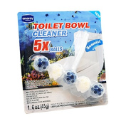 Amoray Premium Toilet Bowl Cleaning Balls 5Ct Sea Mist