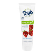 Tom's of Maine Anticavity Fluoride Children's Toothpaste - 120ml - Silly Strawberry