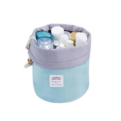 DEESEE(TM) Cosmetic Jewellery Wash Hanging Toiletry Makeup Travel Storage Bag Case (Blue)