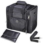 AW 33cm 1200D Oxford Soft Make Up Train Case Bag Artistic Cosmetic Organiser Box Portable Professional