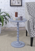 Convenience Concepts Palm Beach Accent End Table, Grey