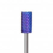 Alonea 1PC Blue Nano Coated Carbide Nail Drill Bit Gel Remove Polishing