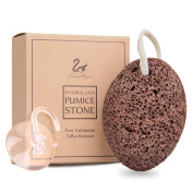 SwanMyst Natural Lava Foot Pumice Stone for Callus Remover and Dead Skin Exfoliation, Natural Foot File Pedicure Tools