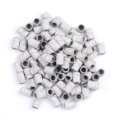 SpeTool 100Pcs Sanding Ring Band 120 Grinding Polisher For Nail Drill Files Manicure Tools