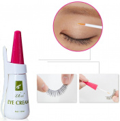 Ecosin False Eyelashes Glue Clear White Waterproof False Eyelashes Makeup Adhesive Eye Lash Glue
