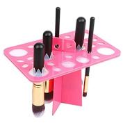 DRQ Cosmetic Makeup Nail Art Brush Holder Dryer Organiser Brush Tree Dryer Folding Collapsible Air Drying Rack Mix Size