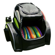 The Throwback Pack 2.0 - Disc Golf Backpack With Dual Coolers - Holds 20 - 25 Discs