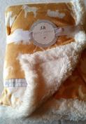 Petit l'amour plush baby blanket