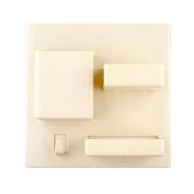 Sinfu Storage Bathroom Toothbrush Wall Mount Holder Organiser tool
