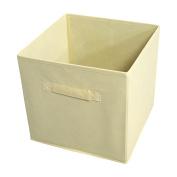 Ben & Jonah Collection Collapsible Storage Bins - Tan - 4 Bins Per Pack