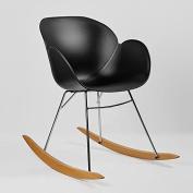Kline Beechwood Rocking Chair - Black