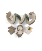 Mamas & Papas Activity Spiral Nest - Hedgehog - Suitable From Birth