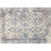 Chenille 2.1m x 2.7m Area Rug with Carpet Back, Nebula Pattern