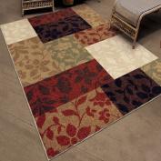 Orian Rugs Floral Quilt Multi-Coloured Rug, 130cm x 190cm