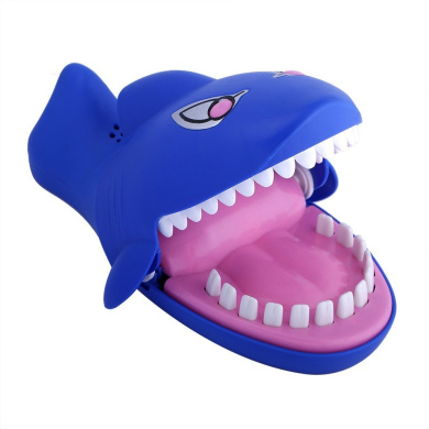 QIYIGE Shark Dentist Game Snappy Biting Hand Game-Evil Laughter and Glowing Eyes